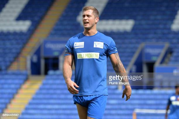 TOWIE's Dan Osborne during the Celebrity Charity Football Match at King Power Stadium on May 28 2017 in Leicester United Kingdom