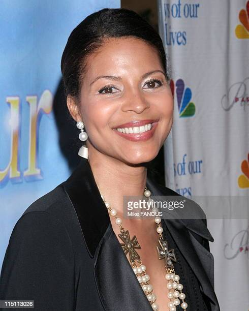 NBC's Daytime Dramas Days of Our Lives and Passions Pre Emmy Party in Burbank United States on April 27 2006 Renee Jones at French 75