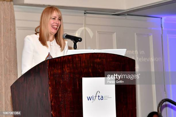SCAD's Dean of Entertainment Arts Andra ReeveRabb attends the '2018 Annual Women In Film Television Gala' at 103 West on November 10 2018 in Atlanta...