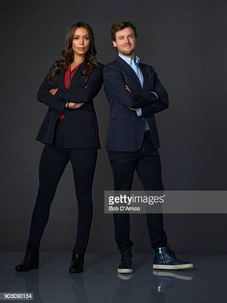 DECEPTION ABC's 'Deception' stars Ilfenesh Hadera as Kay Daniels and Jack CutmoreScott as Cameron Black/Jonathan Black