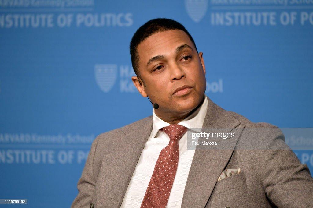 Don Lemon Speaks At Harvard : News Photo