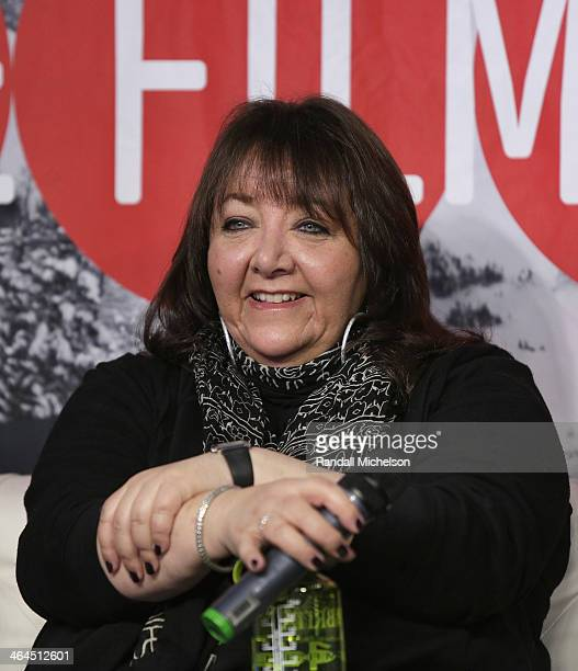 BMI's Doreen RingerRoss speaks at BMI's 16th Annual Composer/Director Roundtable Music Film The Creative Process at Sundance House on January 22 2014...