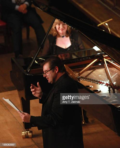 TV's 'Downton Abbey' actor Brendan Coyle portrays French composer Claude Debussy as pianist Lucy Parham plays piano works from 'Clair de Lune'...