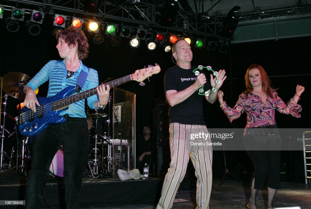 B-52's during The Geek Squad Invades Los Angeles For The Launch of the new 24 Hour Computer Task Force Service at Archlight Pacific Theatres Cinerama Dome in Hollywood, California, United States.