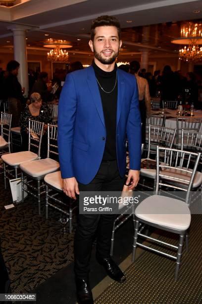 CW's Dynasty actor Rafael de la Fuente attends the '2018 Annual Women In Film Television Gala' at 103 West on November 10 2018 in Atlanta Georgia