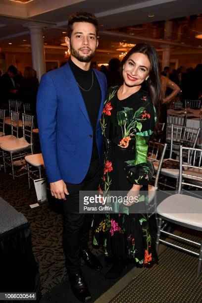 CW's 'Dynasty' actors Rafael de la Fuente and Ana Brenda Contreras attends the '2018 Annual Women In Film Television Gala' at 103 West on November 10...