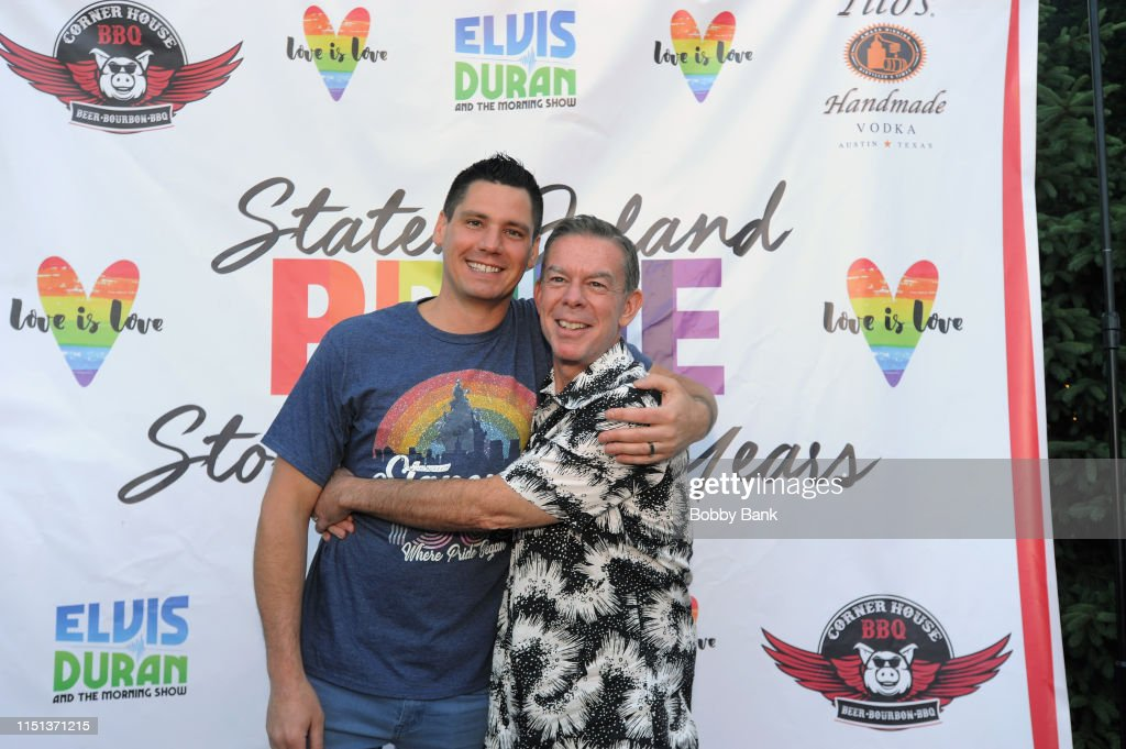 Z100's Elvis Duran Attends The 2019 Staten Island Pride Celebration : News Photo