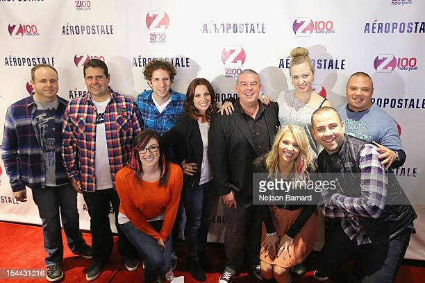 Z100's Elvis Duran the cast of Z100 The Morning Show attend Z100's Jingle Ball 2012 presented by Aéropostale Official Kick Off Partyon October 19...