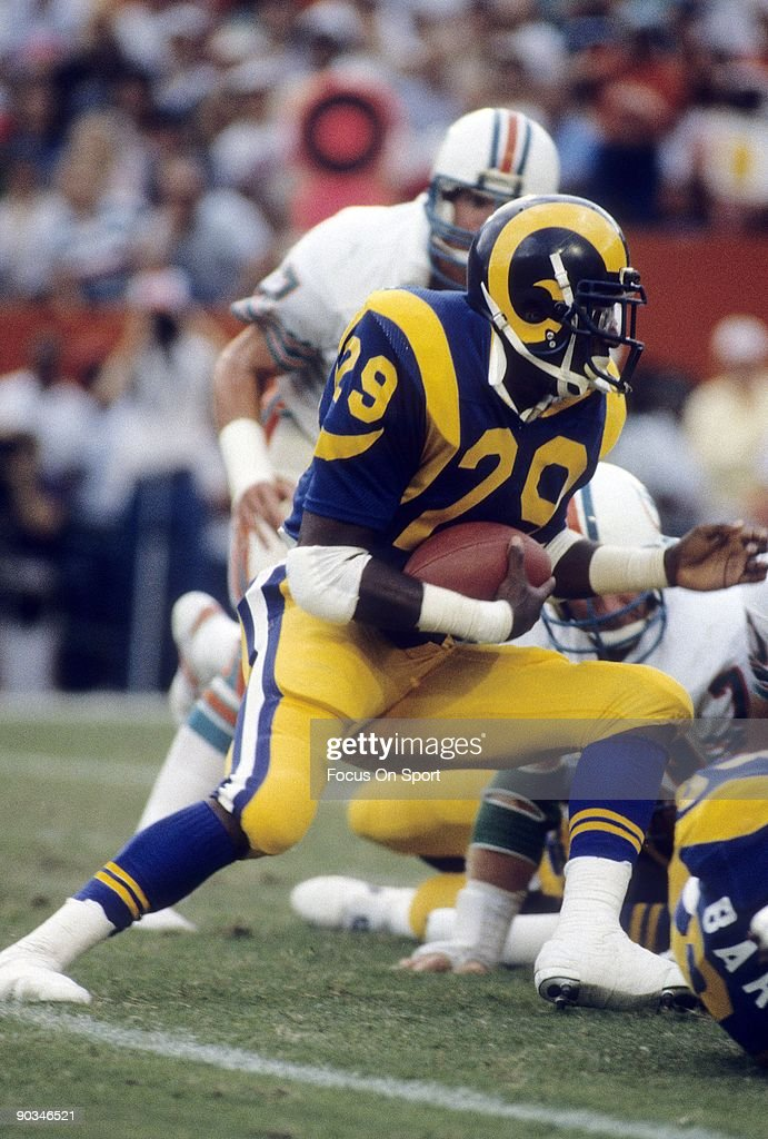 Anaheim Ca Circa 1980s Eric Dickerson Of The Los Angeles Rams