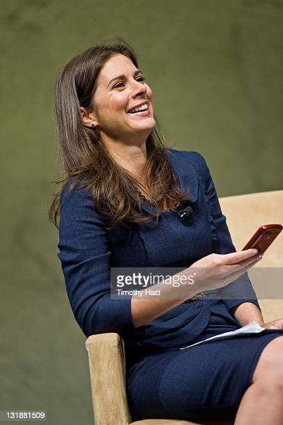 S Erin Burnett attends the Cable Show 2011 at McCormick Place on June 16, 2011 in Chicago, Illinois.