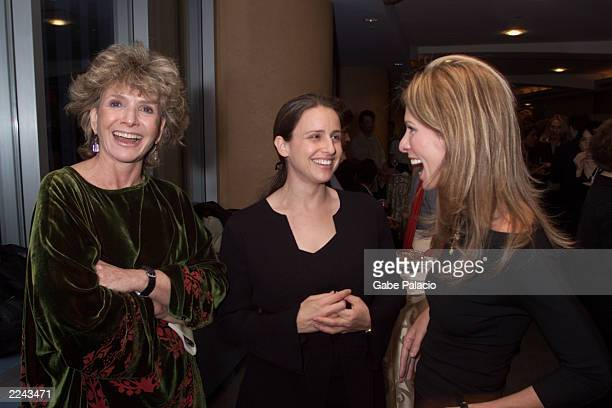 HBO's Executive Producer Sheila Nevins Carole Radziwill wife of Anthony Radziwill and director Edet Belzberg at HBO's reception and special screening...