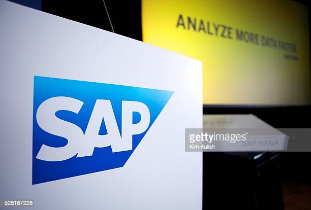 SAP's executives presented their new database and mobile application development roadmap during a press event in San Francisco SAP's HANA...