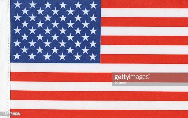 USA's flag canvas