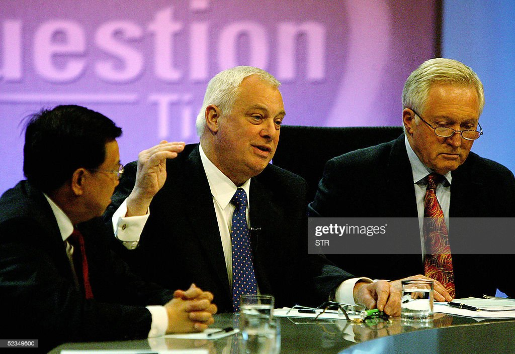 BBC's flagship political debate program : Nieuwsfoto's