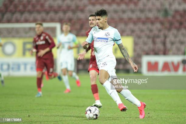 FCSB's Florinel Coman during the Liga I match between CFR Cluj and FCSB at DrConstantinRadulescuStadium on February 2 2020 in ClujNapoca Romania