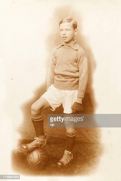 1920's Football Player Goalkeeper