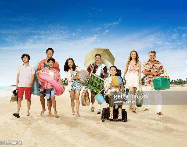 """S """"Fresh Off the Boat"""" stars Forrest Wheeler as Emery Huang, Hudson Yang as Eddie Huang, Ian Chen as Evan Huang, Constance Wu as Jessica Huang,..."""