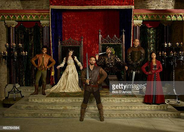GALAVANT ABC's 'Galavant' stars Luke Youngblood as Sid Mallory Jansen as Madalena Joshua Sasse as Galavant Timothy Omundson as King Richard Vinnie...