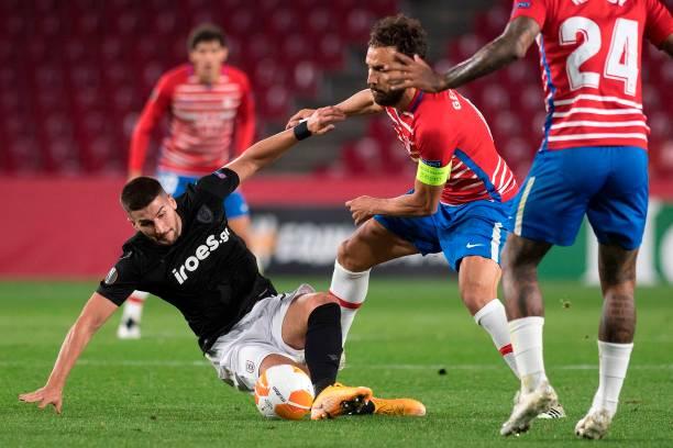 ESP: Granada CF v PAOK: Group E - UEFA Europa League