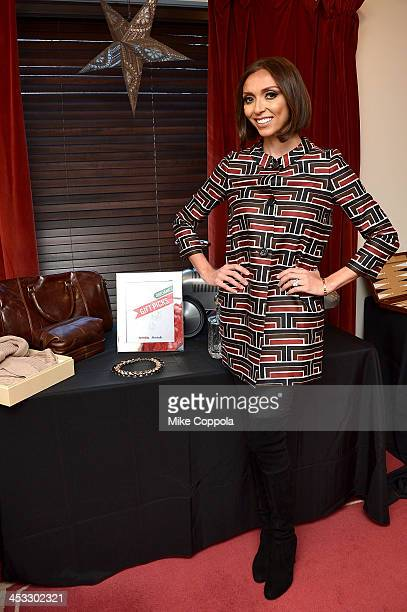 S Giuliana Rancic makes the call on her top holiday gift picks available at T.J.Maxx and Marshalls on December 3, 2013 in New York City.