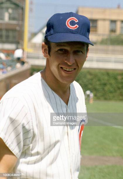 CHICAGO IL CIRCA 1970's Glenn Beckert of the Chicago Cubs portrait before a game from his career with the Chicago Cubs Glenn Beckert played for 11...