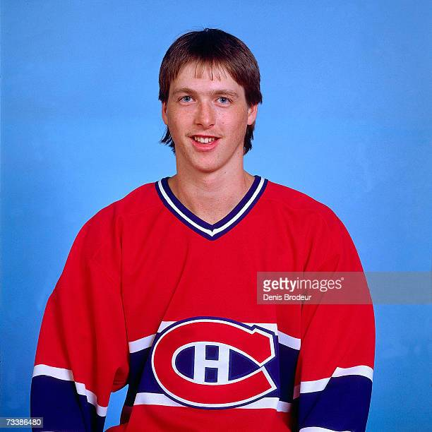 MONTREAL 1990's Goaltender Patrick Roy of the Montreal Canadiens poses for a photo