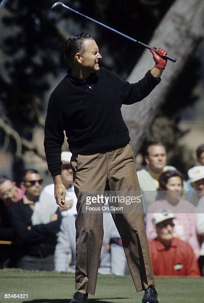 CIRCA 1960's Golf Billy Capsper in action during tournament play circa late 1960's