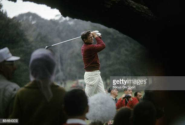 CIRCA 1960's Golf Doug Sanders in action during tournament play circa late 1960's