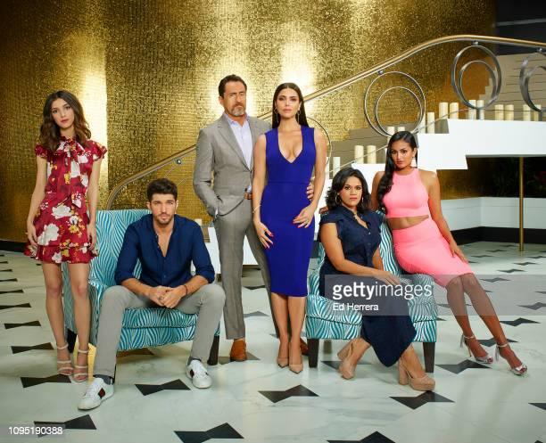 HOTEL ABC's 'Grand Hotel' stars Denyse Tontz as Alicia Mendoza Bryan Craig as Javi Mendoza Demián Bichir as Santiago Mendoza Roselyn Sánchez as Gigi...