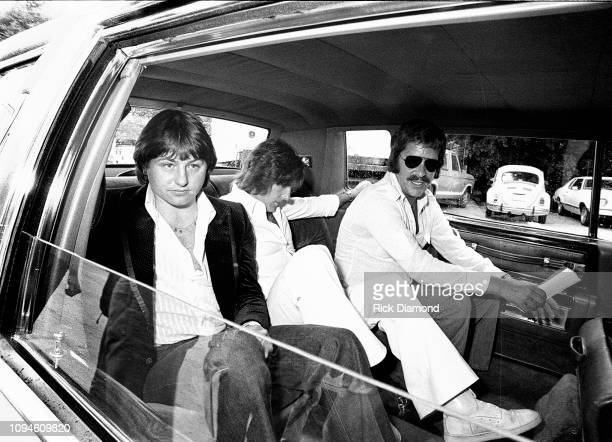 S Greg Lake and Keith Emerson of Emerson, Lake and Palmer at Peaches Records & Tapes in Atlanta Georgia June 23, 1977