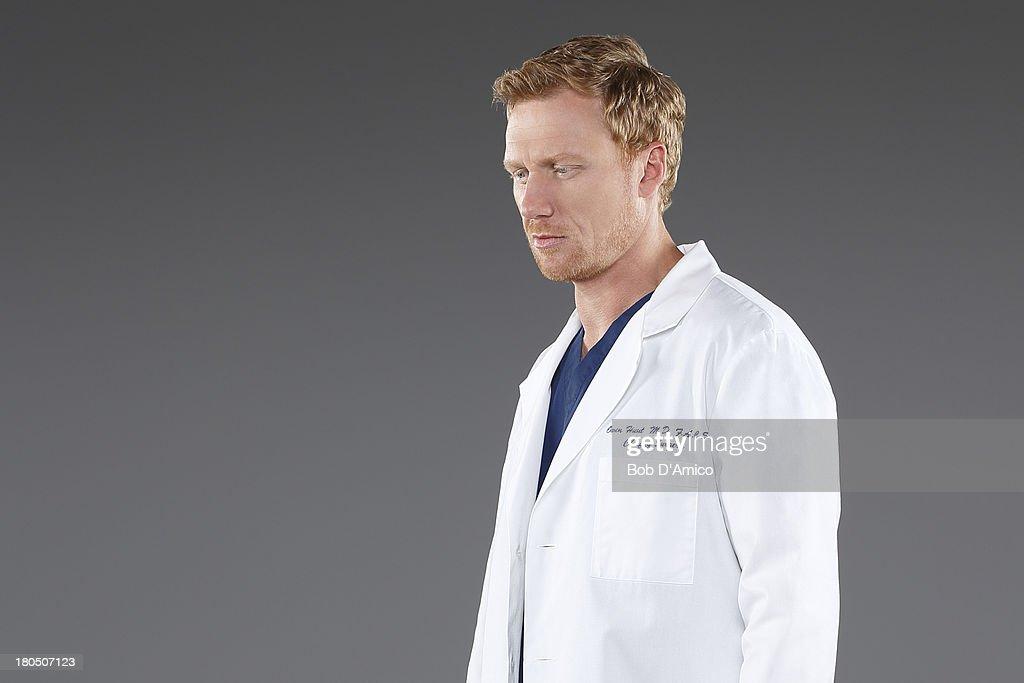S ANATOMY - ABC's 'Grey's Anatomy' stars Kevin McKidd as Dr. Owen Hunt.
