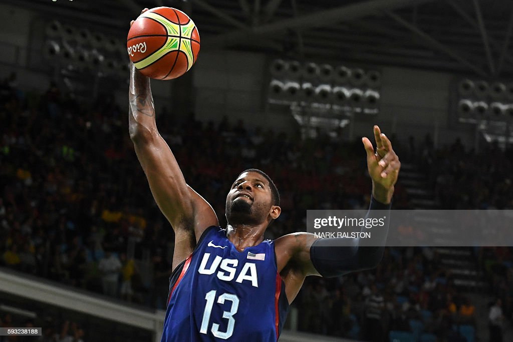 BASKETBALL-OLY-2016-RIO-SRB-USA : News Photo