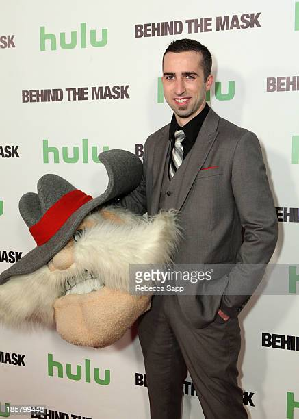 UNLV's Hey Reb mascot Jon 'Jersey' Goldman at Hulu Presents The LA Premiere Of 'Behind the Mask' at the Vista Theatre on October 24 2013 in Los...