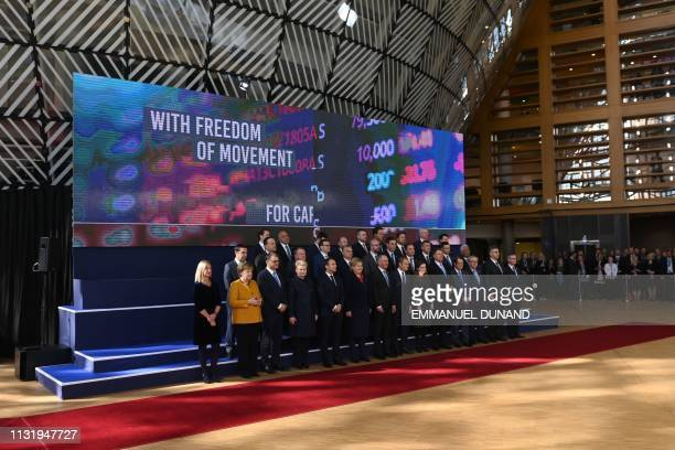 EU's High representative for foreign affairs and security policy Federica Mogherini Germany's Chancellor Angela Merkel Finland's Prime minister Juha...