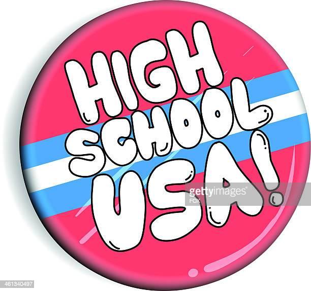 FOX's HIGH SCHOOL USA logo