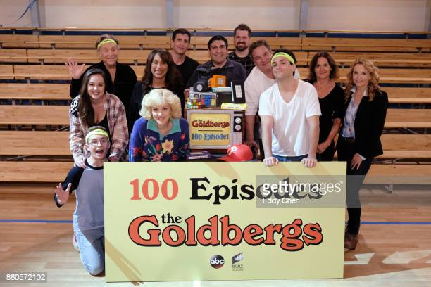 THE GOLDBERGS Culver City CA OCTOBER 4 TV's Hit Comedy THE GOLDBERGS Celebrates 100 Episodes The 100th episode 'Trek Wars' was directed by Lea...