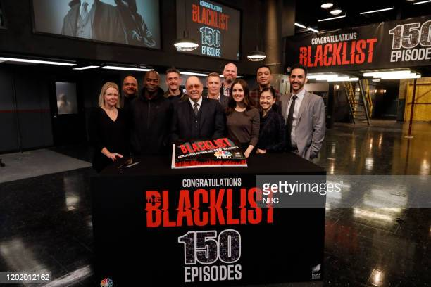 THE BLACKLIST New York NY FEBRUARY 20 NBC's Hit Drama THE BLACKLIST Celebrates 150 Episodes during it's seventh season The 150th episode Roy Cain was...