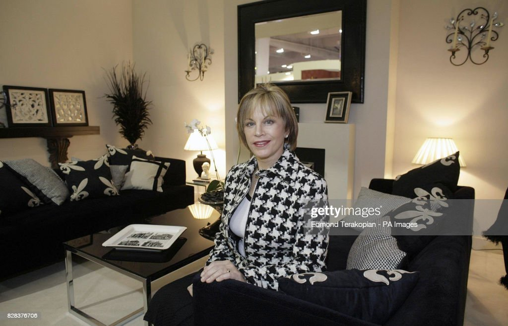 TV's House Doctor Ann Maurice in the 'Monochrome Room', one of six room  sets that she has arranged for the TK Maxx Home feature to identify the key  trends ...
