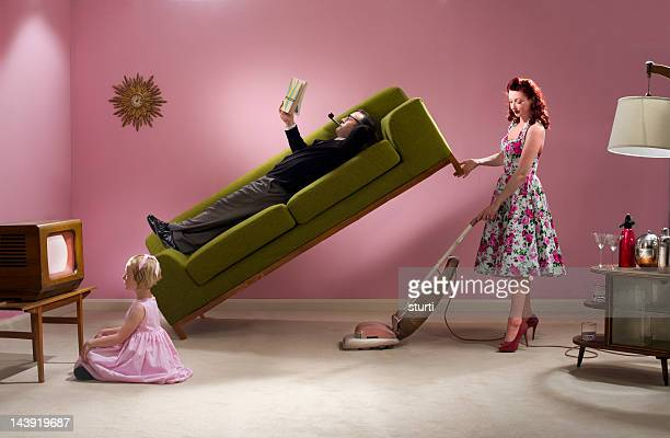1950's housework - perfection stock pictures, royalty-free photos & images
