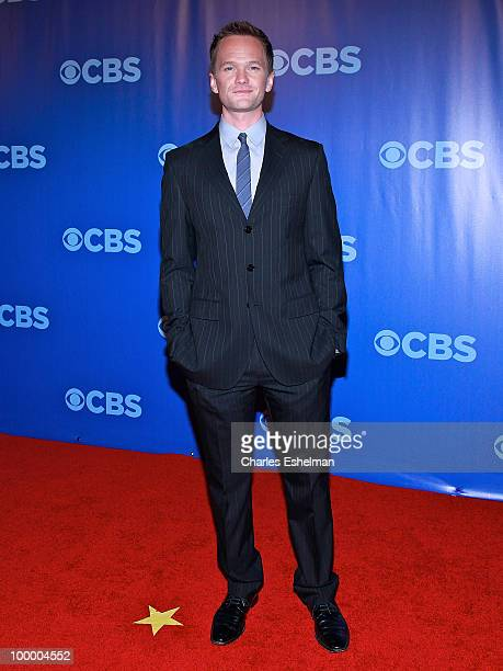 CBS's How I Met Your Mother actor Neil Patrick Harris attends the 2010 CBS UpFront at Damrosch Park Lincoln Center on May 19 2010 in New York City