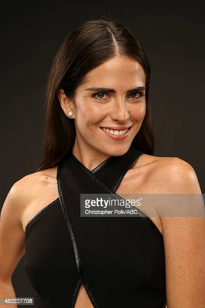 ABC's 'How to Get Away with Murder' actress Karla Souza poses for a portrait during ABC's 2014 TCA summer press tour at The Beverly Hilton Hotel on...