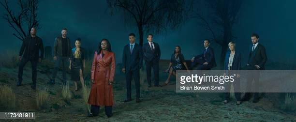 MURDER ABC's How To Get Away With Murder stars Billy Brown as Detective Nate Lahey Charlie Weber as Frank Delfino Amirah Vann as Tegan Price Viola...