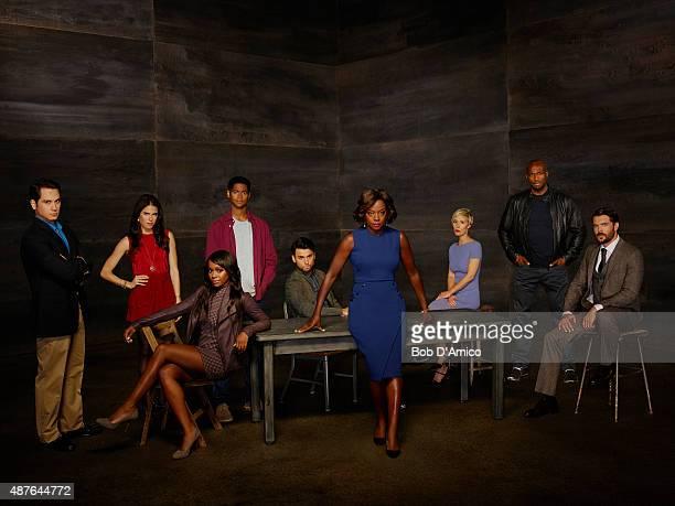 MURDER ABC's 'How to Get Away with Murder' stars Matt McGorry as Asher Millstone Karla Souza as Laurel Castillo Aja Naomi King as Michaela Pratt...