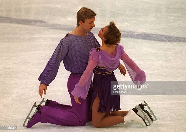 TODAY's ICE GALA AT THE 1994 WINTER OLYMPICS IN LILLEHAMMER Mandatory Credit Phil Cole/ALLSPORT