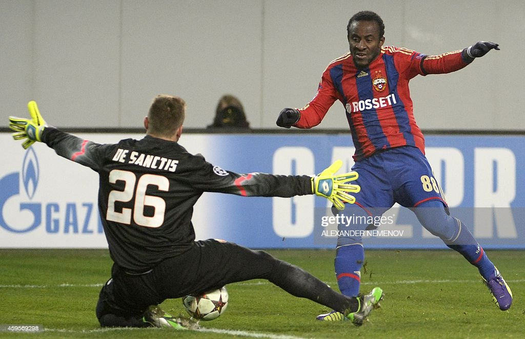 FBL-EUR-C1-CSKA-ROMA : News Photo