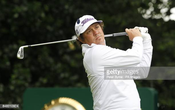 USA's Jason Dufner during day one of the 2012 Open Championship at Royal Lytham St Annes Golf Club Lytham St Annes