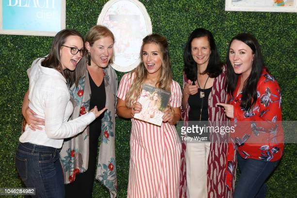 CMT's Jennifer Morrison Jaclyn Jones Jessie James Decker Leslie Fram and Jordan Walker attend a Book Release Party for the book 'Just Jessie My Guide...