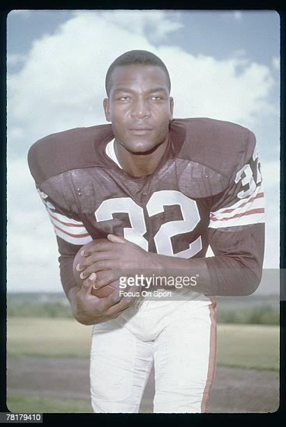 CIRCA 1950's Jim Brown of the Cleveland Browns late circa 1950's Brown played for the Browns from 19571965