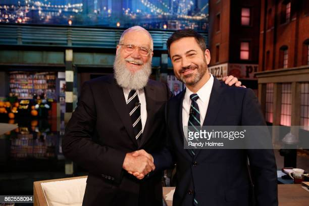 LIVE ABC's 'Jimmy Kimmel Live' returns to Brooklyn New York for five original shows The guests for Tuesday October 17 included David Letterman...