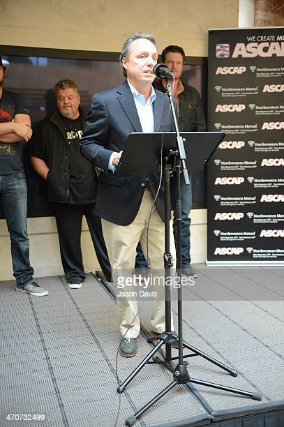 BMI's Jody Williams attends the Blake Shelton No 1 Party for Boys 'Round Here and Mine Would Be You at Starstruck Studios on February 19 2014 in...